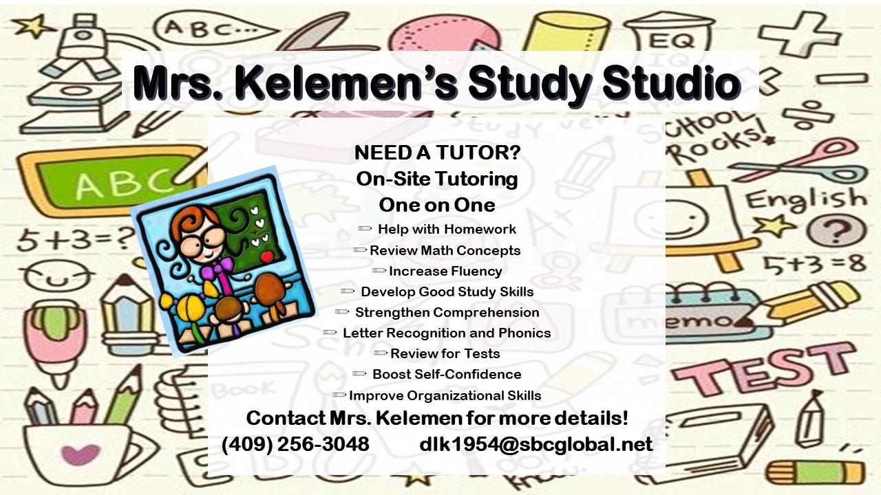 Kelemen's Study Studio